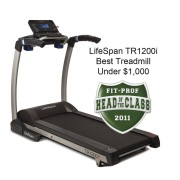 LifeSpan TR 1200i Treadmill best treadmill award