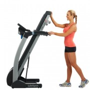 LifeSpan TR 1200i Treadmill folding design