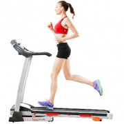 Sunny Health & Fitness Treadmill in use