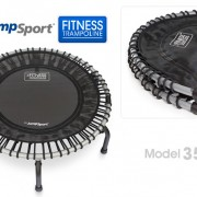 JumpSport Fitness Trampoline Model 350 folding version