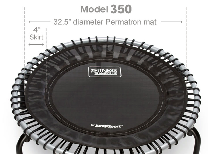 JumpSport Fitness Trampoline Model 350 featured